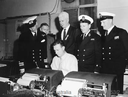 Photograph, 1956, National Archives of Australia A7135, O53/2. Image courtesy of the National Archives of Australia.